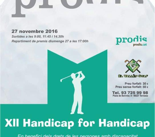 XII Handicap for Handicap