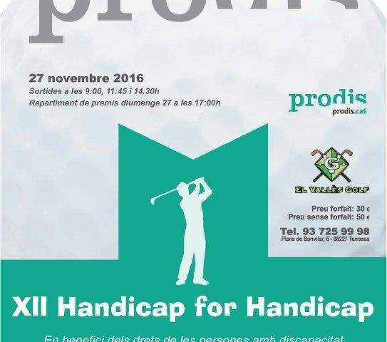 XII Handicap for Handicap