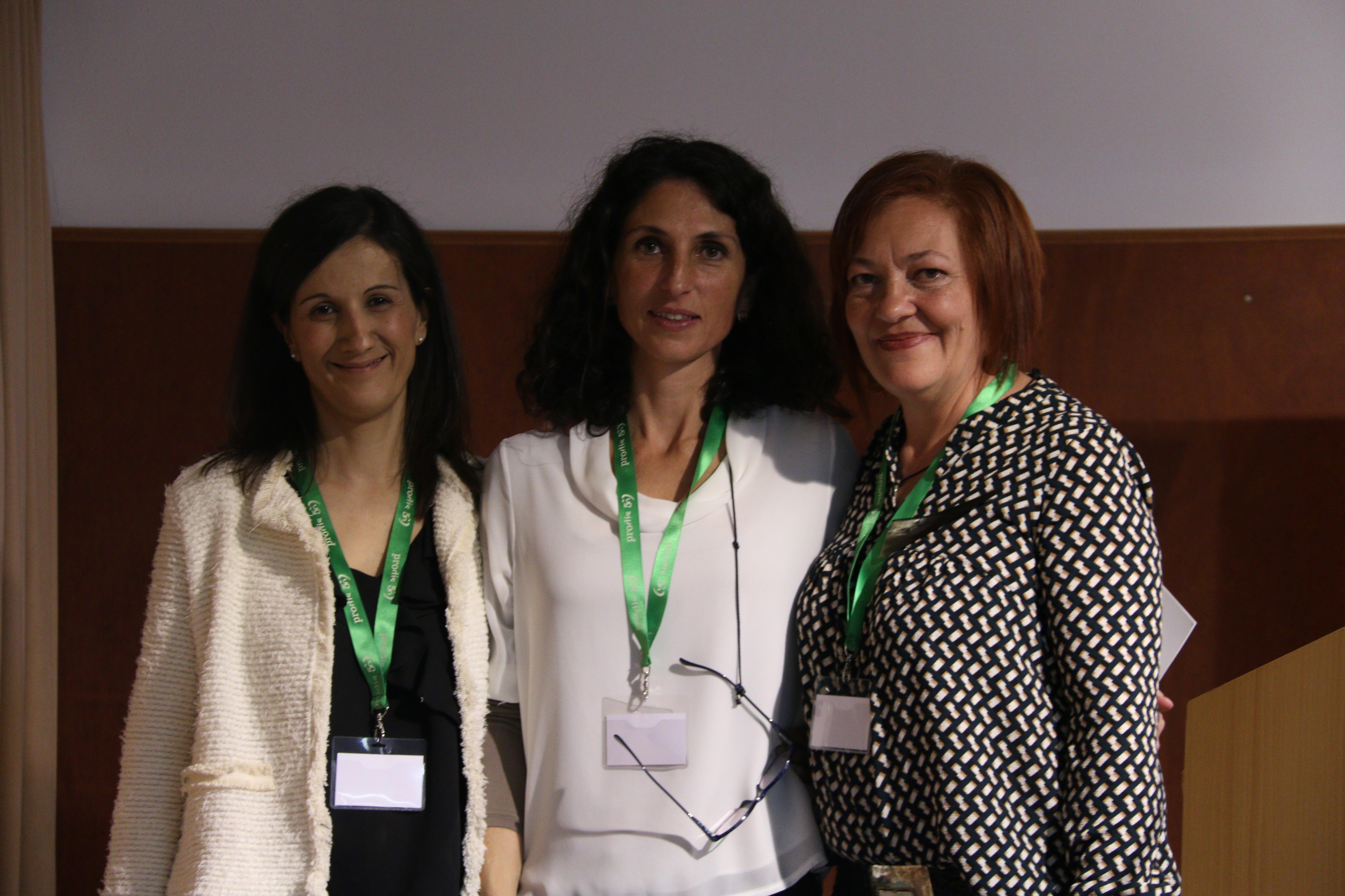 Àngels Carreras, Anna Garcia i Mercè Miró